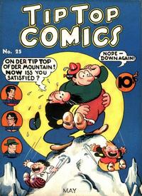 Cover Thumbnail for Tip Top Comics (United Features, 1936 series) #25