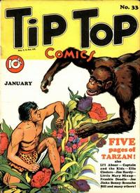 Cover Thumbnail for Tip Top Comics (United Features, 1936 series) #33