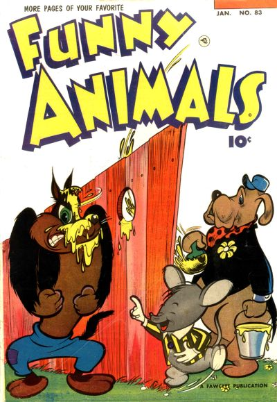 Cover for Fawcett's Funny Animals (Fawcett, 1942 series) #83