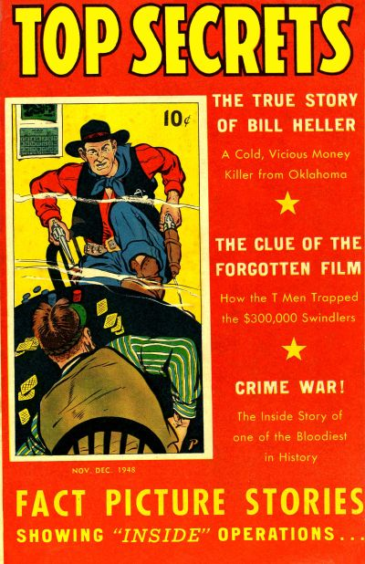 Cover for Top Secrets (Street and Smith, 1947 series) #v1#6
