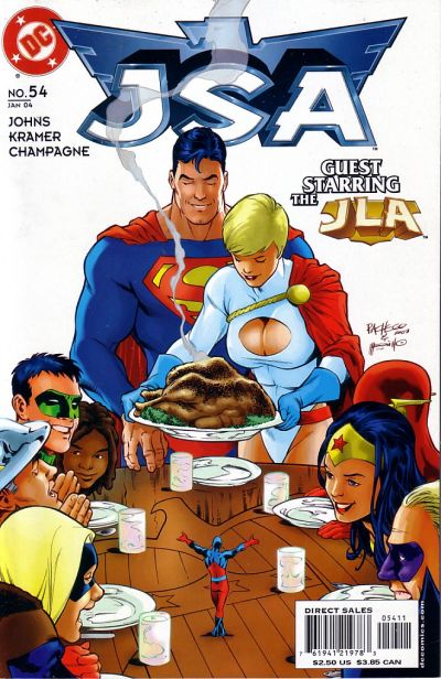 Cover for JSA (DC, 1999 series) #54