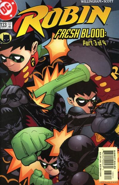 Cover for Robin (DC, 1993 series) #133