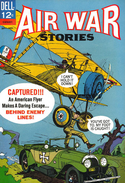 Cover for Air War Stories (Dell, 1964 series) #5