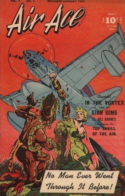 Cover for Air Ace (Street and Smith, 1944 series) #v3#7