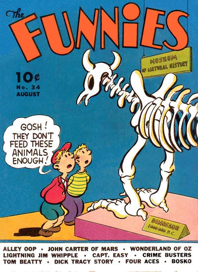 Cover for The Funnies (Dell, 1936 series) #34
