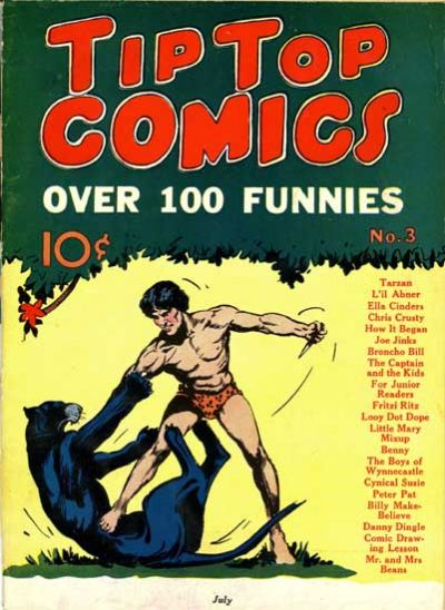 Cover for Tip Top Comics (United Features, 1936 series) #3
