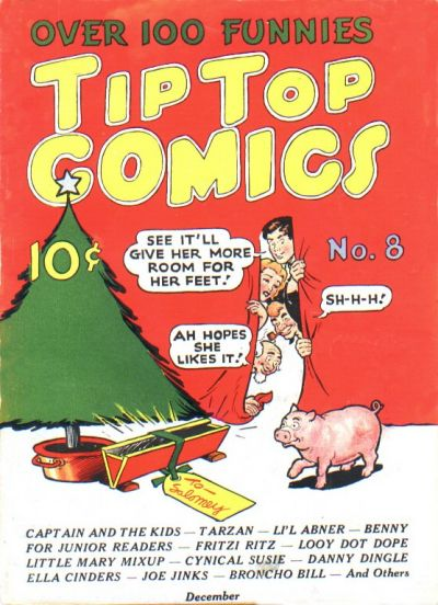 Cover for Tip Top Comics (1936 series) #8