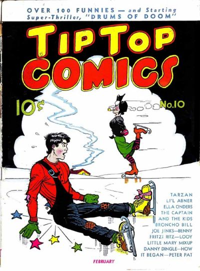 Cover for Tip Top Comics (United Features, 1936 series) #10