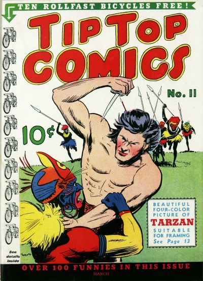 Cover for Tip Top Comics (1936 series) #11