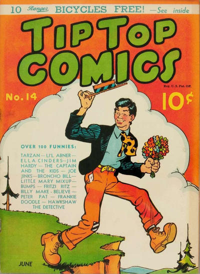 Cover for Tip Top Comics (United Features, 1936 series) #14