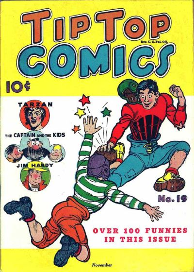 Cover for Tip Top Comics (1936 series) #19