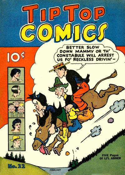 Cover for Tip Top Comics (United Features, 1936 series) #v2#10 (22)