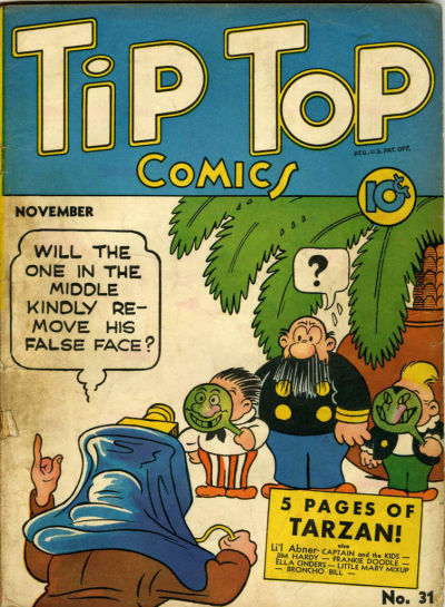 Cover for Tip Top Comics (1936 series) #31