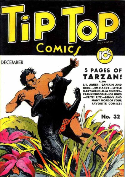Cover for Tip Top Comics (United Features, 1936 series) #v3#8 [32]