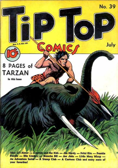 Cover for Tip Top Comics (1936 series) #39