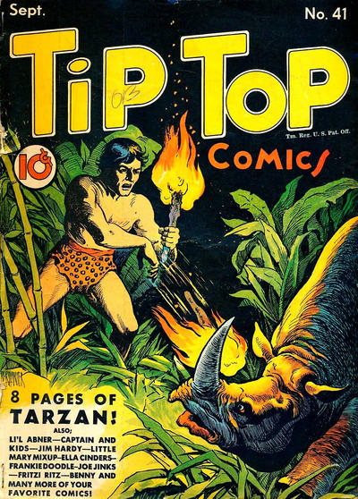 Cover for Tip Top Comics (1936 series) #41