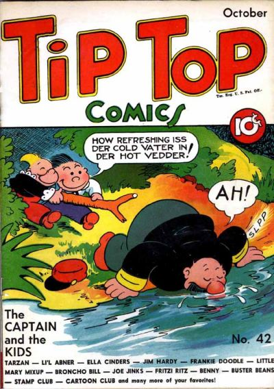 Cover for Tip Top Comics (United Features, 1936 series) #42