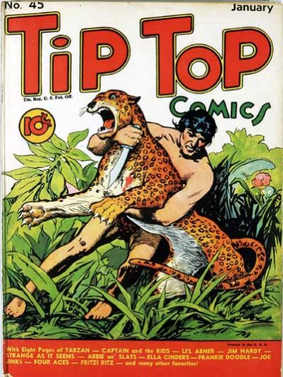 Cover for Tip Top Comics (United Features, 1936 series) #45