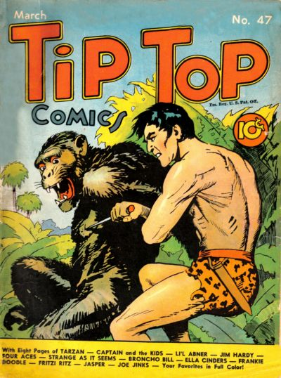Cover for Tip Top Comics (United Features, 1936 series) #47