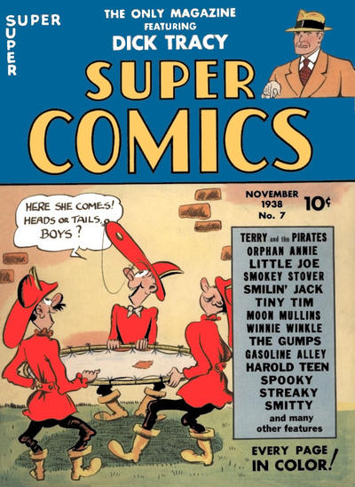 Cover for Super Comics (Dell, 1938 series) #7