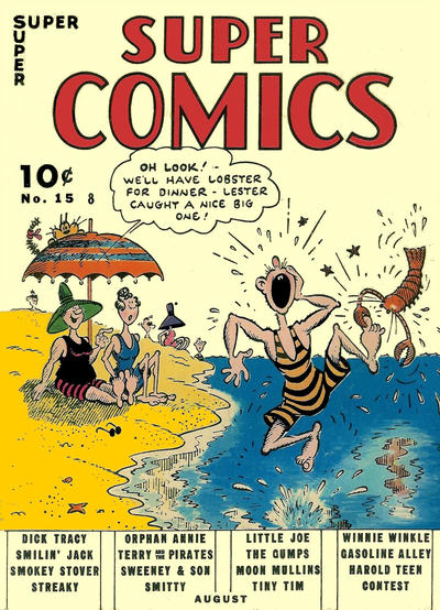 Cover for Super Comics (Dell, 1938 series) #15