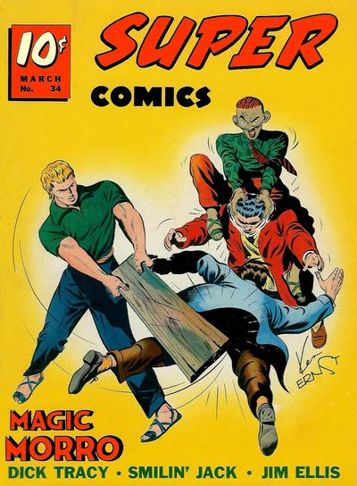Cover for Super Comics (Western, 1938 series) #34