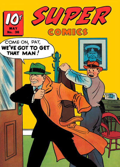 Cover for Super Comics (Western, 1938 series) #36