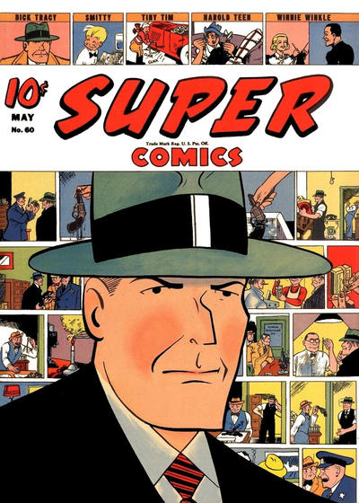 Cover for Super Comics (Dell, 1938 series) #60
