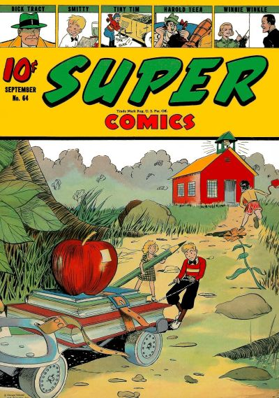 Cover for Super Comics (Western, 1938 series) #64