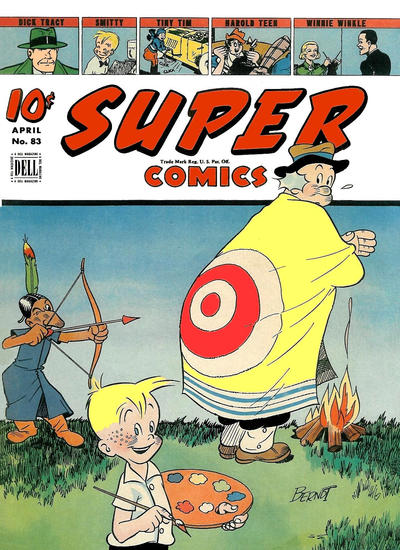 Cover for Super Comics (Dell, 1938 series) #83