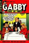 Cover for Gabby (Quality Comics, 1953 series) #3