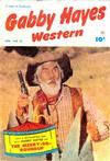 Cover for Gabby Hayes Western (Fawcett, 1948 series) #41