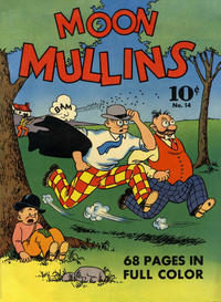 Cover for Four Color (Dell, 1939 series) #14 - Moon Mullins