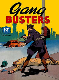 Cover Thumbnail for Four Color (Dell, 1939 series) #23 - Gang Busters