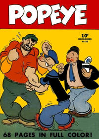 Cover Thumbnail for Four Color (Dell, 1939 series) #25 - Popeye