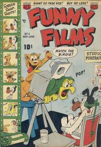 Cover Thumbnail for Funny Films (American Comics Group, 1949 series) #5