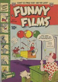 Cover Thumbnail for Funny Films (American Comics Group, 1949 series) #7