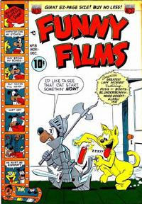 Cover Thumbnail for Funny Films (American Comics Group, 1949 series) #8