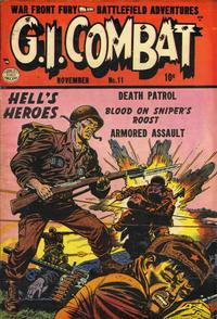 Cover Thumbnail for G.I. Combat (Quality Comics, 1952 series) #11