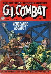 Cover Thumbnail for G.I. Combat (Quality Comics, 1952 series) #15