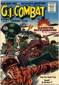 Cover Thumbnail for G.I. Combat (Quality Comics, 1952 series) #40