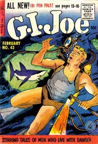 Cover Thumbnail for G.I. Joe (Ziff-Davis, 1951 series) #43
