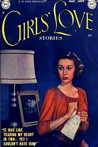 Cover Thumbnail for Girls' Love Stories (DC, 1949 series) #1