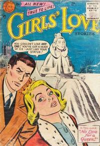 Cover Thumbnail for Girls' Love Stories (DC, 1949 series) #39