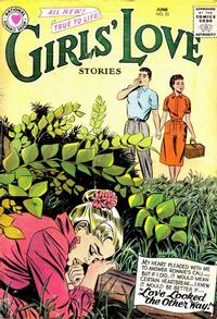 Cover Thumbnail for Girls' Love Stories (DC, 1949 series) #55