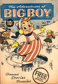 Cover Thumbnail for The Adventures of Big Boy (Marvel, 1956 series) #2 [East]