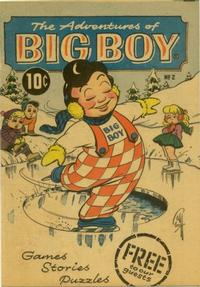 Cover for The Adventures of Big Boy (1956 series) #2 [West]
