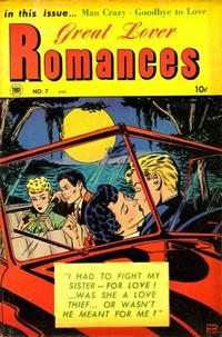 Cover Thumbnail for Great Lover Romances (Toby, 1951 series) #7