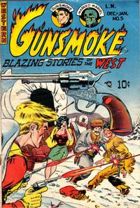 Cover Thumbnail for Gunsmoke (Youthful, 1949 series) #5