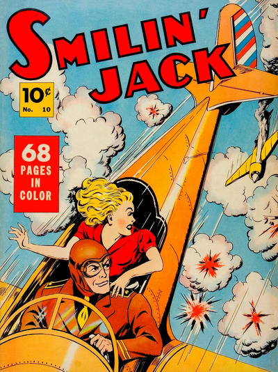 Cover for Four Color (Dell, 1939 series) #10 - Smilin' Jack